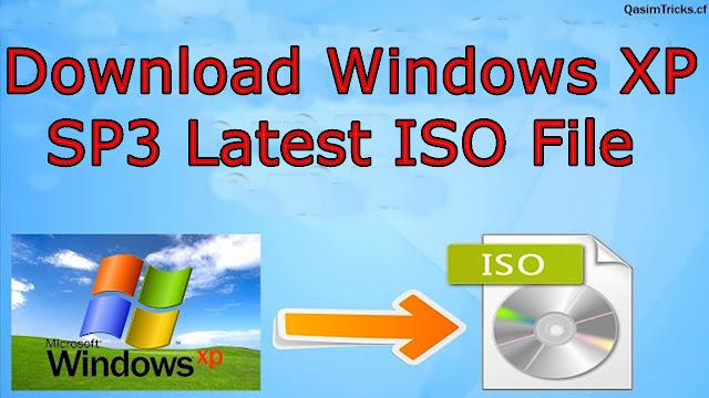 Download Windows XP SP3 Pro x32 bit ISO File Latest