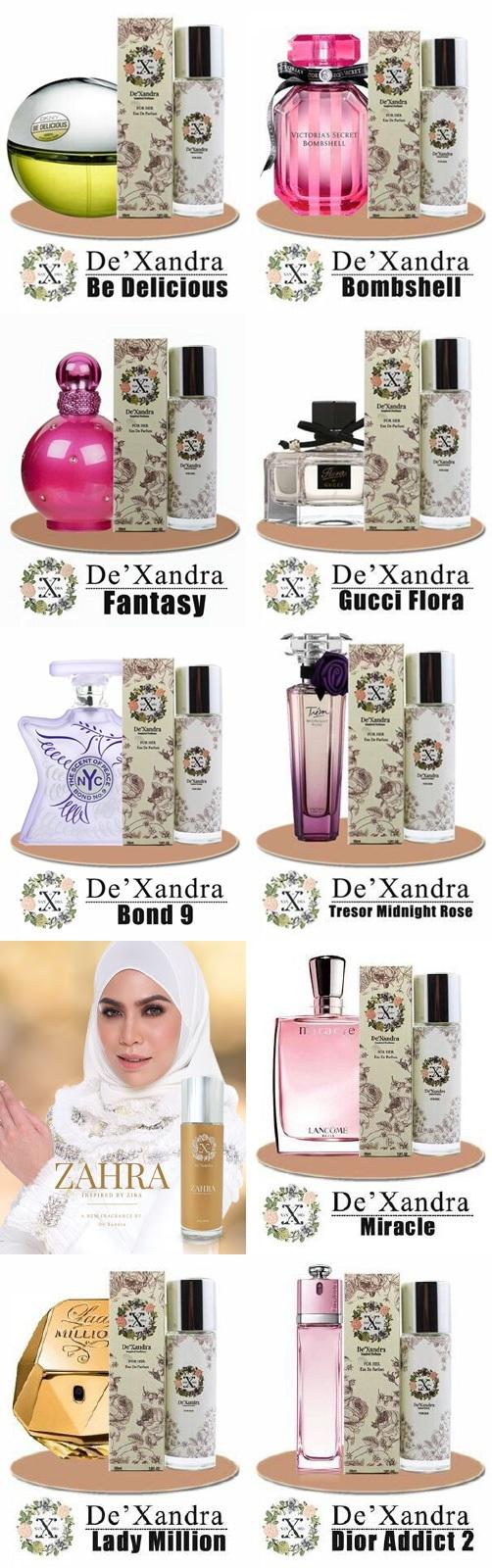 10 perfume dexandra yang paling laris