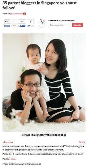 As Featured in The Asian Parent Singapore