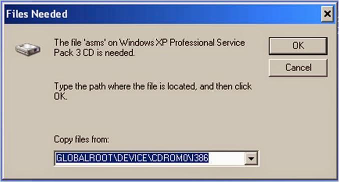 arquivo asms do windows xp