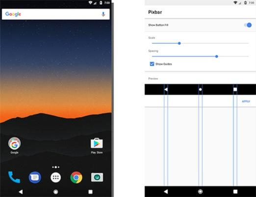 كيف تجعل هاتفك العادي يبدو بمنظر أنيق مثل هاتف Google Pixel بدون روت