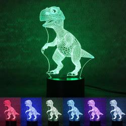 Colección de lamparas 3D con efecto visual de holograma