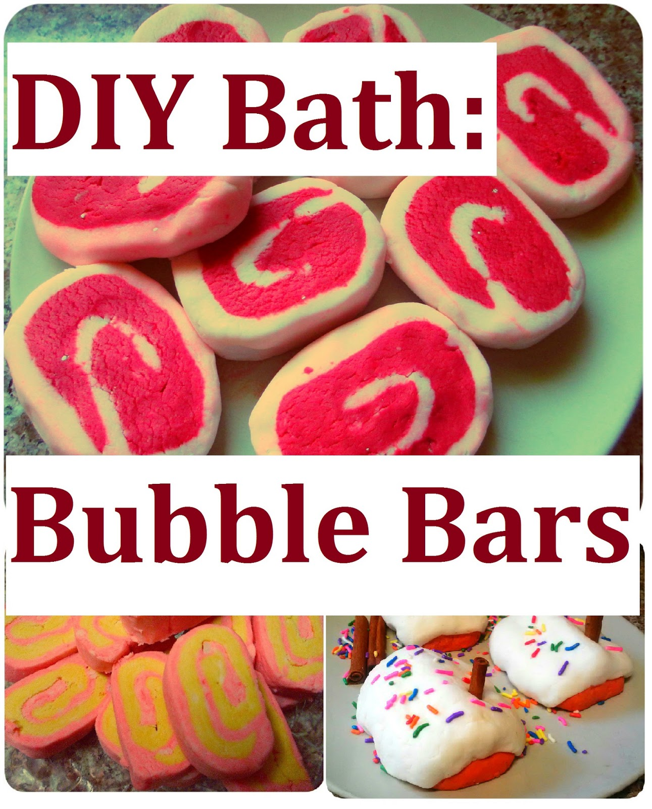 Simple Cheap Christmas Gifts: Maria Sself Chekmarev: DIY Bubble Bars Recipe, How To Make