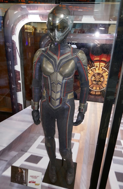 Evangeline Lilly Wasp film costume