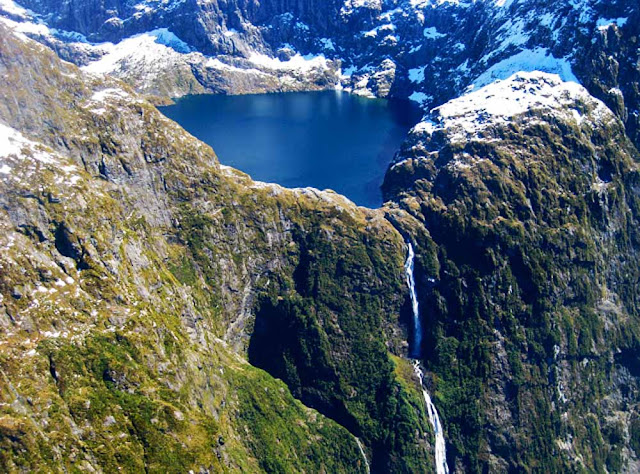 Cachoeira Sutherland - Nova Zelândia