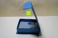 auspacken: OneChance Damen Ohrring Kollektion Blau Kristall Teardrop Ohrhänger