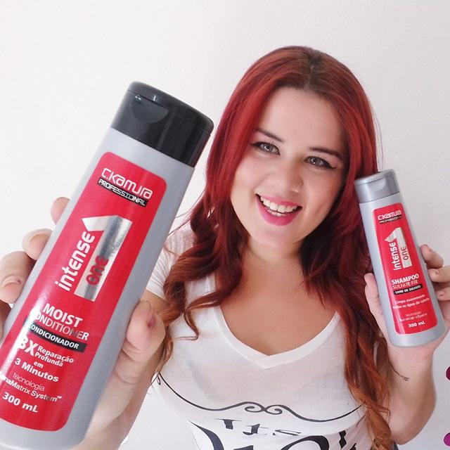 Phany Pinheiro, blogueira ruiva, blogueira brasileira, Linha Celso Kamura, intense one, shampoo, condicionador, 10 em 1, resenha, produtos baratinhos, sindicato da beleza, loja sindicato da beleza, barra world,