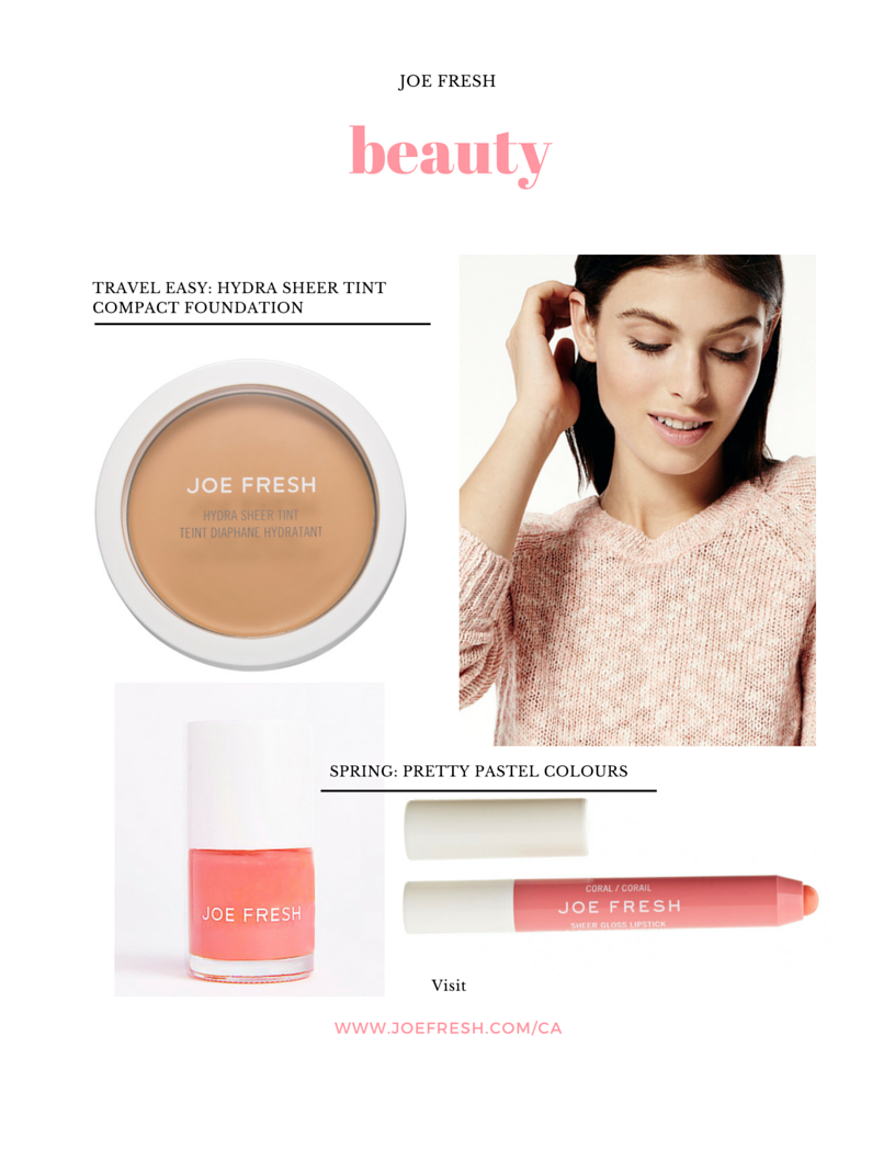 Joe Fresh Beauty now available at Shoppers Drug Mart! | Beauty Parler