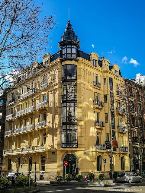 Los tejados de Madrid a vista de Zoom. Calle Alcalá (6), las linternas de los tejados de la zona de Goya