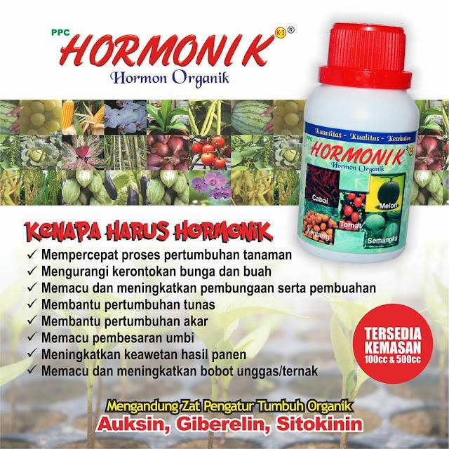 Hormonik - Hormon Pertumbuhan Organik Untuk Tanaman