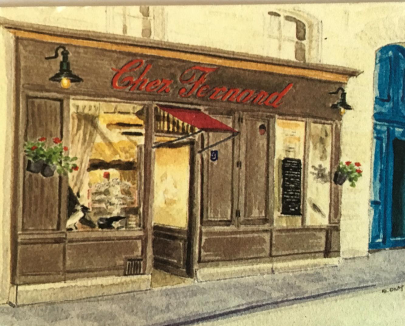 Paris Restaurant Chez Fernand