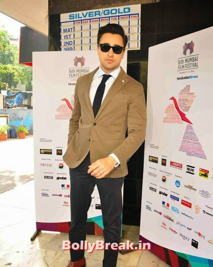 Imran Khan, Photos from Opening Ceremony of MAMI 2014