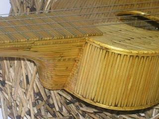 Instumentos musicales hechos con cerillos o fósforos.