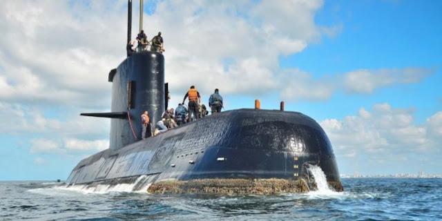 Descartan contactar al submarino a 950 metros de profundidad y empeoran las condiciones meteorológicas