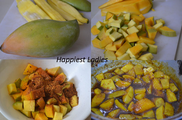 How to Make Instant Sweet Mango Pickle?