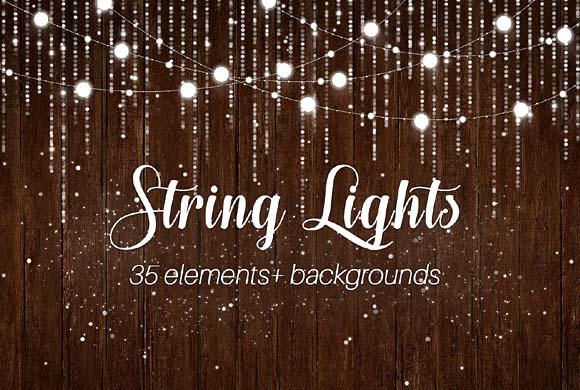 String Lights PNG