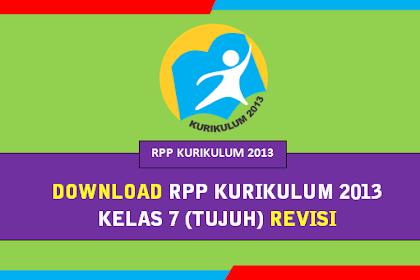 Download Gratis | RPP K13 SMP Kelas 7 (VII) lengkap Semester 1 dan 2 Revisi 2018