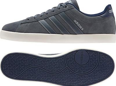 Dark Suede Adidas Neo Derby Trainers | Vintage1500