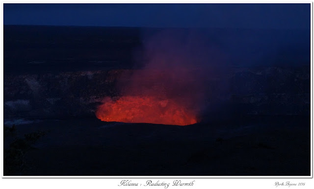 Kilauea: Radiating Warmth