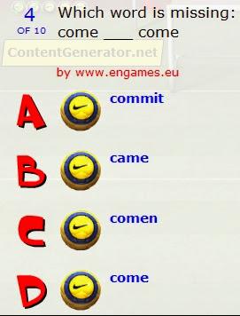 http://www.engames.eu/irregular_verbs/irregular%20verbs02_pentalty.html