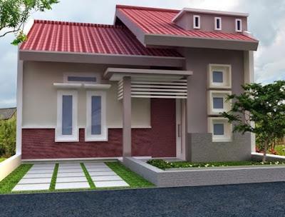 warna cat teras rumah minimalis terbaru