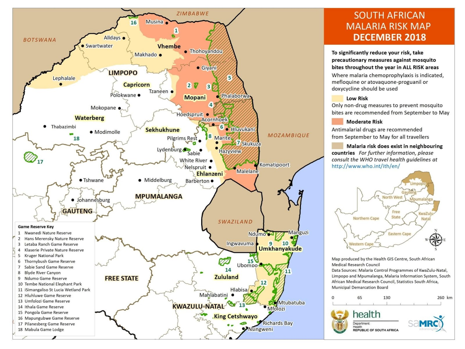 TravelComments.Official Blog: Malaria: South African Malaria