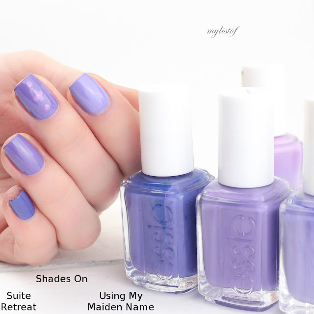 Dupe Essie Shades On