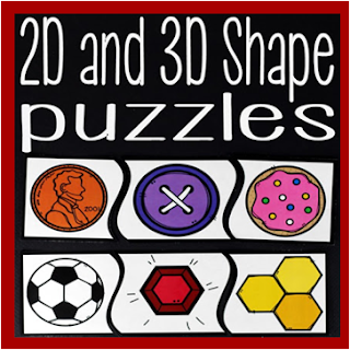 2d and 3d shape puzzles