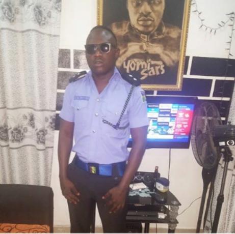 Celebrity SARS Officer & Singer, Yomi SARS Promoted To