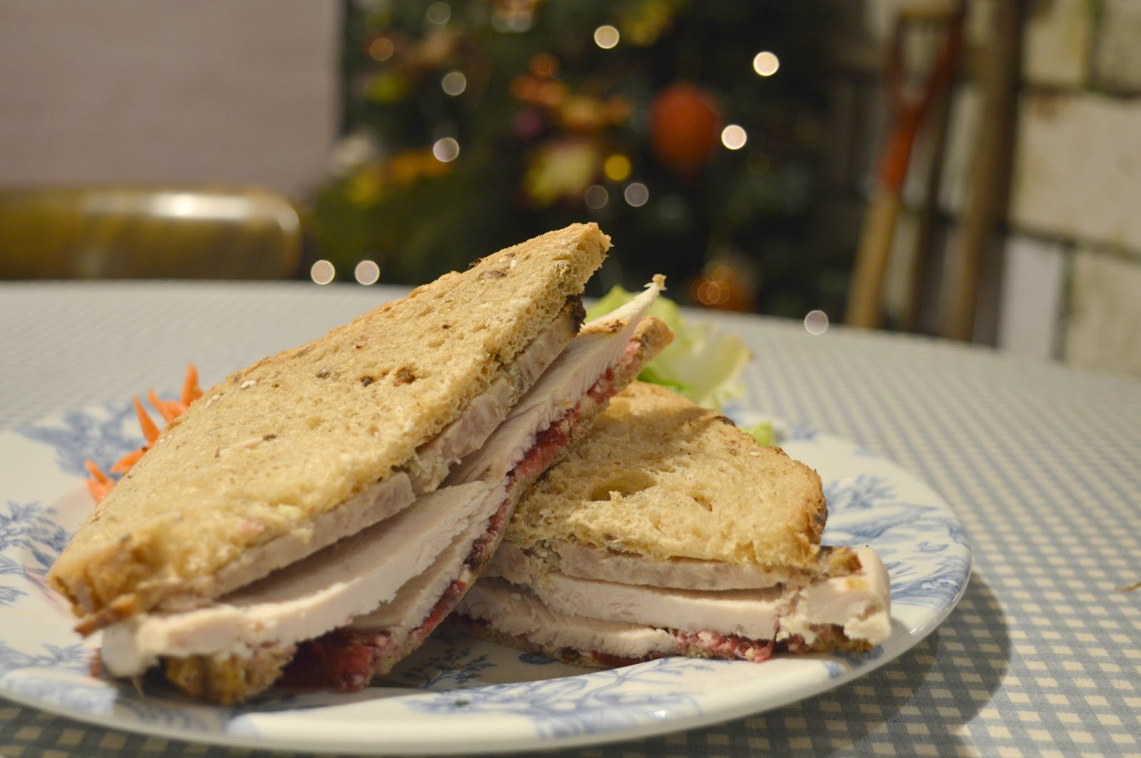 Mrs Tiggy-Winkles Cafe, Fenwick's Christmas Department Newcastle Menu