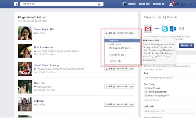 thủ thuật tin học , itkyc , cách xem ai đã từ chối kết bạn facebook