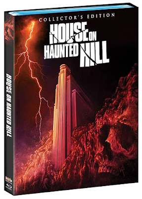 House On Haunted Hill 1999 Blu Ray Collectors Edition Slip Cover