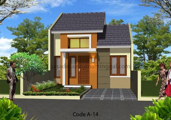 Contoh  Rumah  Minimalis  1 Lantai  Desain Rumah