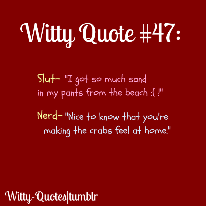 Witty Quotes With Pictures