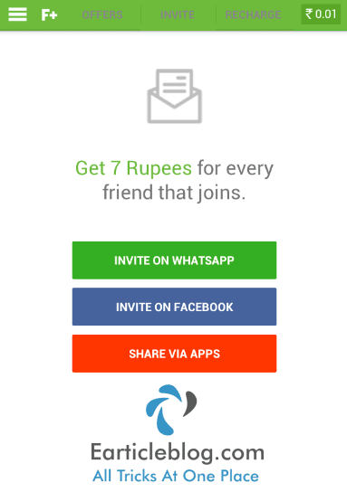 Freeplus refer and earn