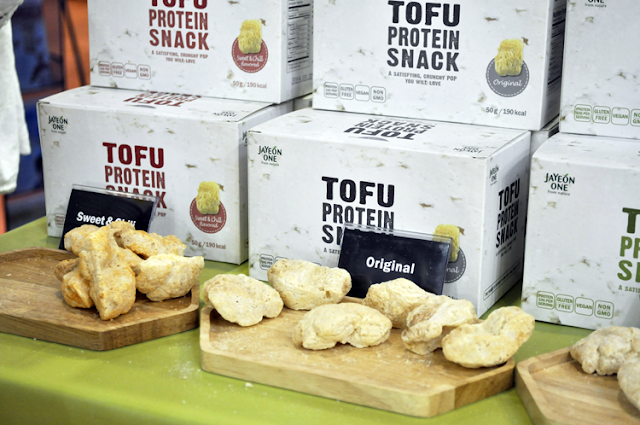 tofu inflado de diferentes sabores