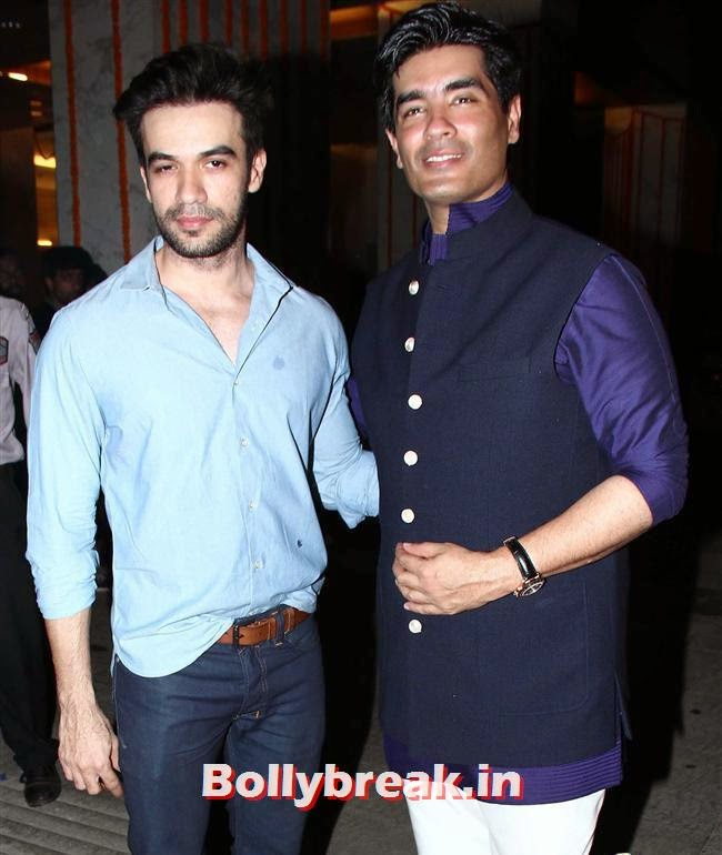 Puneet Malhotra and Manish Malhotra, Bollywood Celebs at Kangana Ranaut Birthday Bash Pics