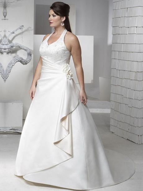 vestido de novia para gorditas civil