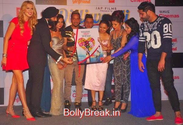 , Ira Dubey, Prachi Mishra, Hard Kaur Hot Pics At Dilliwali Zaalim Girlfriend Movie Music Launch