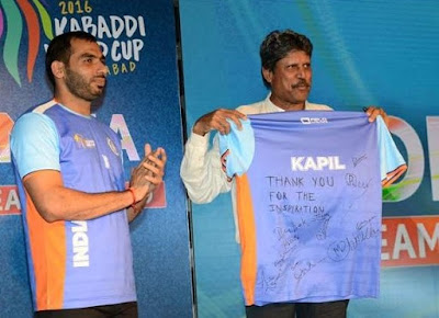 indian players in 2016 Kabaddii World Cup