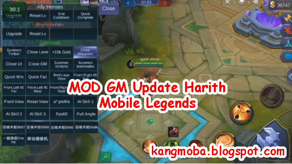 Mobile Legends MOD GM Patch Harith
