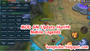 Mobile Legends Mod Gm Patch Harith Free Download (Update 18 November 2018)