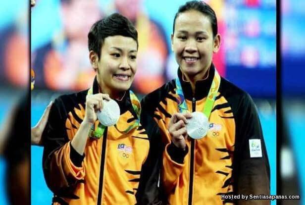 Terjunan Perak Pandelela Rinong Dan Cheong Jun Hoong [2]