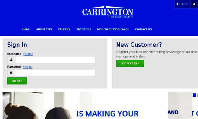 Carrington Mortgage Login and Its Benefits, Helps Customers to Manage