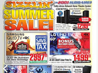 2001 Audio Video Flyer valid July 21 - 27, 2017
