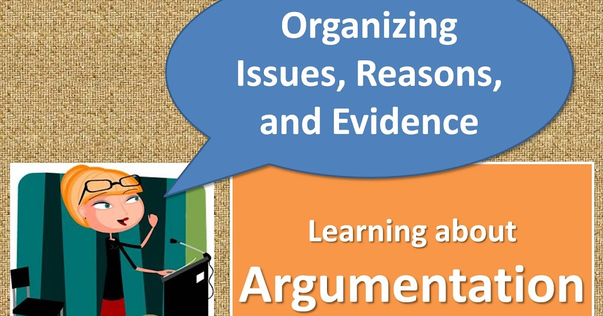 ways to organize an argumentative essay