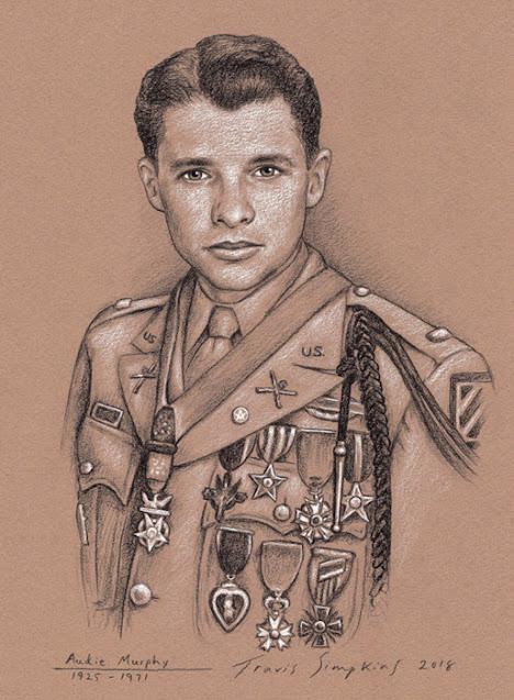 Audie Murphy, 33°. World War II Soldier, Actor and Freemason. by Travis Simpkins