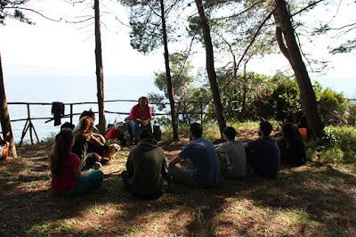 ΝΕΑ ΑΚΡΟΠΟΛΗ: Ασκήσεις στη φύση - Κέρκυρα