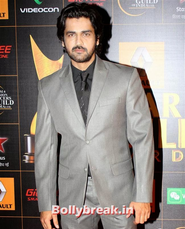 Arjan Bajwa, Star Guild Awards 2014 Pics