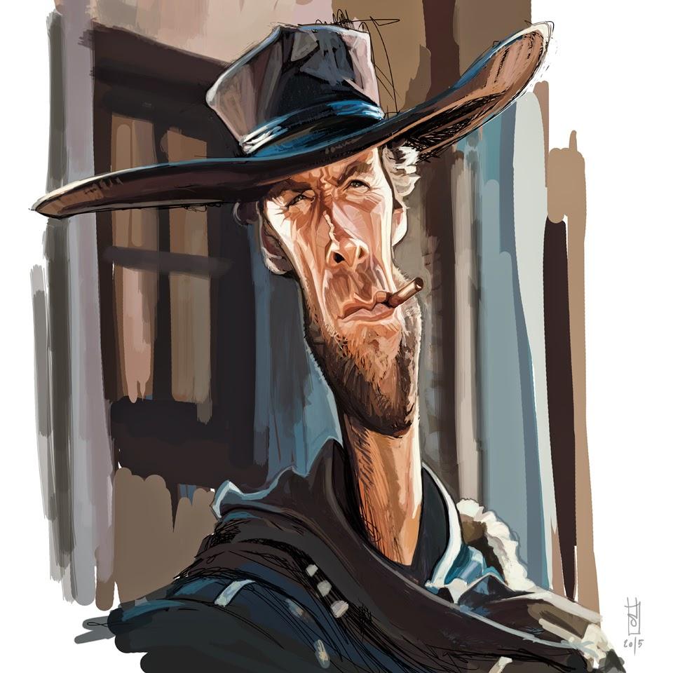 """Clint Eastwood"" por Alberto ""Sting"" Russo"